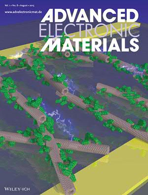 Field-Effect Transistors on Advanced Electronic Materials Cover
