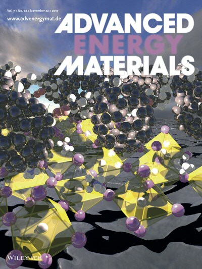 Advanced Energy Materials Cover feature