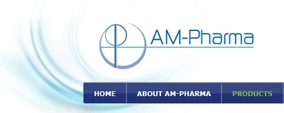 AM Pharma logo