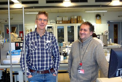 Van Duin (left) and Picchioni | Photo Science LinX