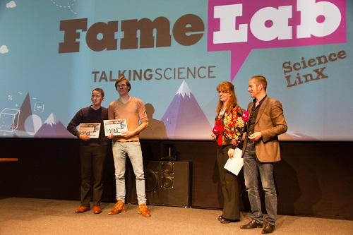 Left, winners Timothy and Ludo | Photo Science LinX