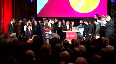 Feringa's group is being awarded the Honorary Medal of the City of Groningen | Photo University of Groningen