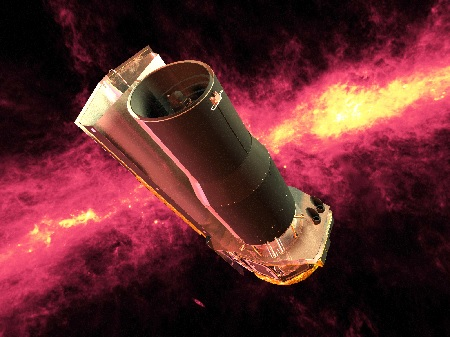 Spitzer Space Telescop | Illustration NASA/JPL-Caltech