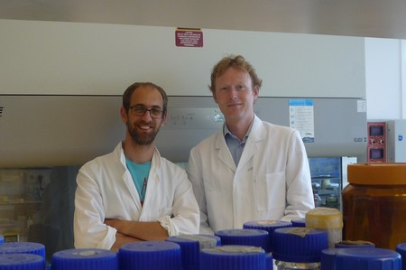 Jelle Slager (left) and Jan-Willem Veening | Photo Science LinX (archive)