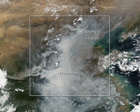 Smog in China | NASA