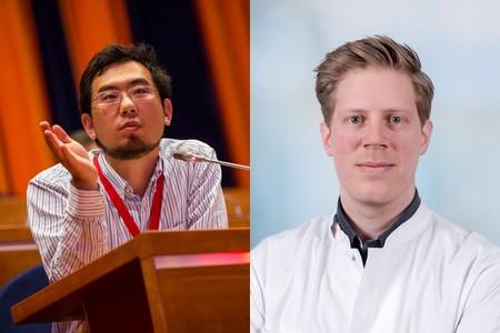 Astone Shi (left) and Joost Meijer   Photo's UoG/UMCG