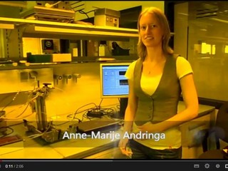 Still from a video about the detector