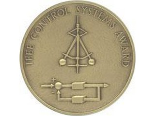 The IEEE Control Systems Award medal.