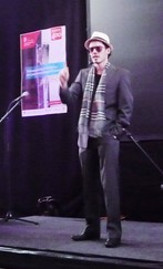 Participant in the 2014 Groningen FameLab heat | Photo Science LinX