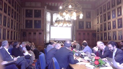 Participants in the conference, Senate Room, University of Groningen