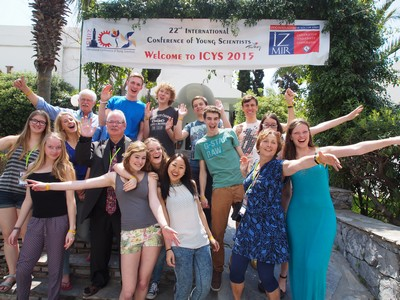 The Dutch delegation at the ICYS | Photo Science LinX