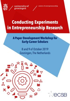 Workshop Experiments in Entrepreneurship | Research Center