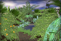 Virtual butterflygarden