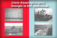 The 23rd Keuning Conference, Energy in the Landscape