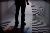 Trappen experiment in de Reality Cube