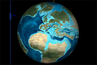 Earth, 65 milion years ago