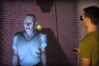 A psychological experiment in VR