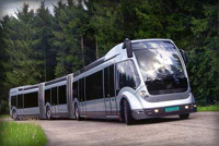 The 24-meter long, fully automatic Phileas bus