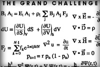 The grand challenge equations, with the Navier-Stokes equation as used in CFD calculations