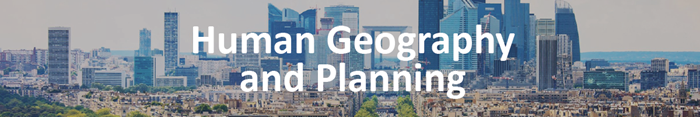 Human Geography and Urban and Regional Planning