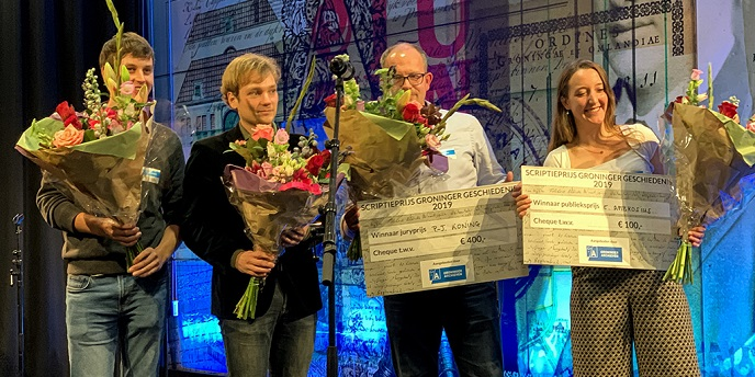History student wins peoples choice award on Groningen History Day