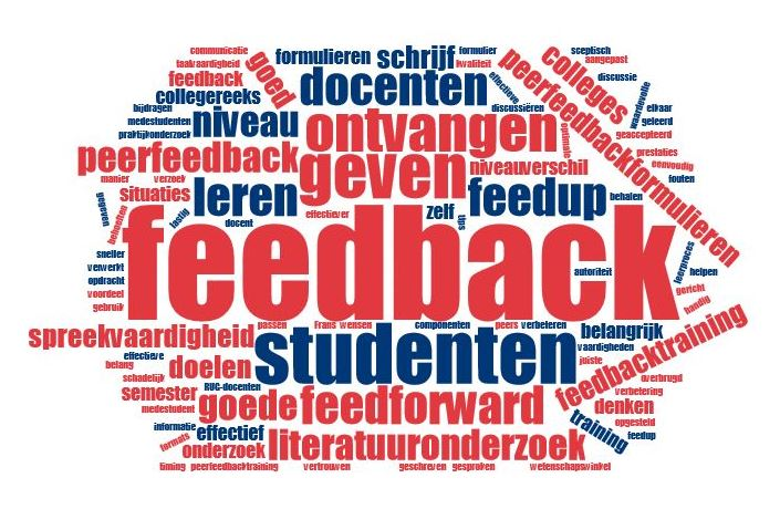 Effective feedback also contains feed up and feed forward